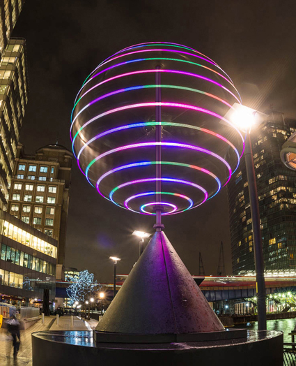 Light Sphere I at Winter Lights 2016